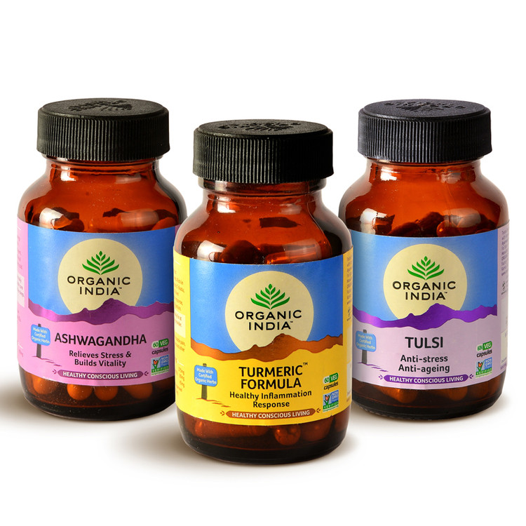 Introducing - Organic India NEW one of a kind herbal supplements!