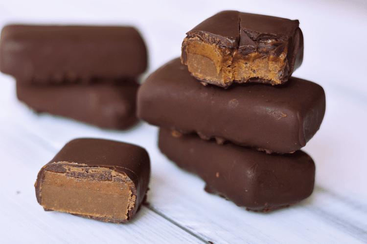 Raw Vegan Protein Mars Bars