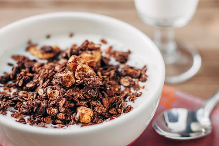 Chocolatey scrummy granola