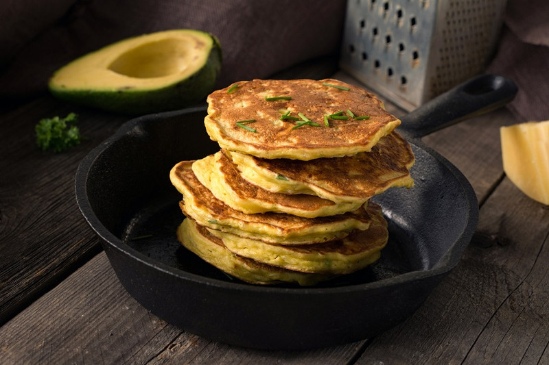Pancake day! Tasty savoury pancakes.