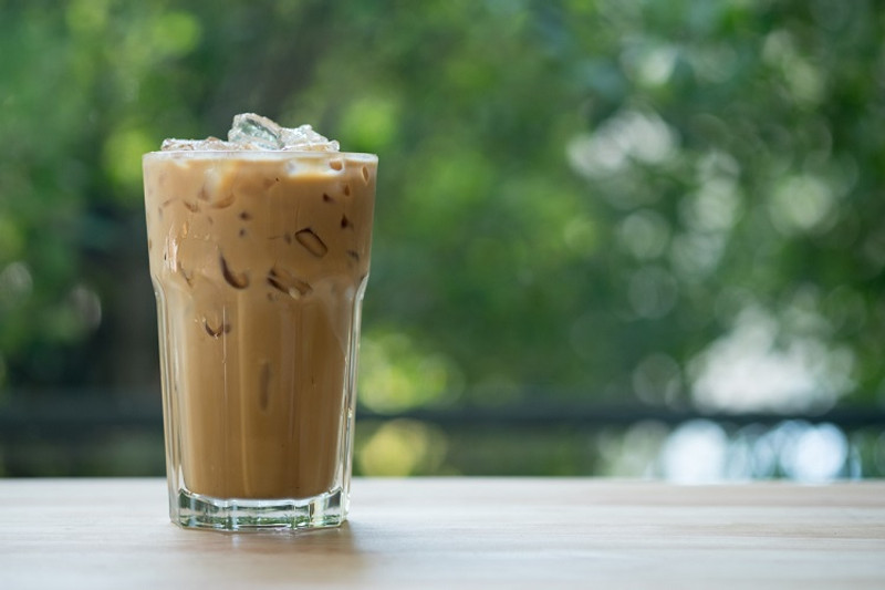 Iced Café Latte (the best you'll ever have!)
