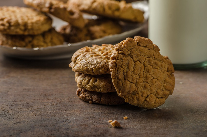 Peanut butter protein cookies – bring it on