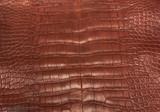American Alligator - Belly -  Matte - Crimson Red
