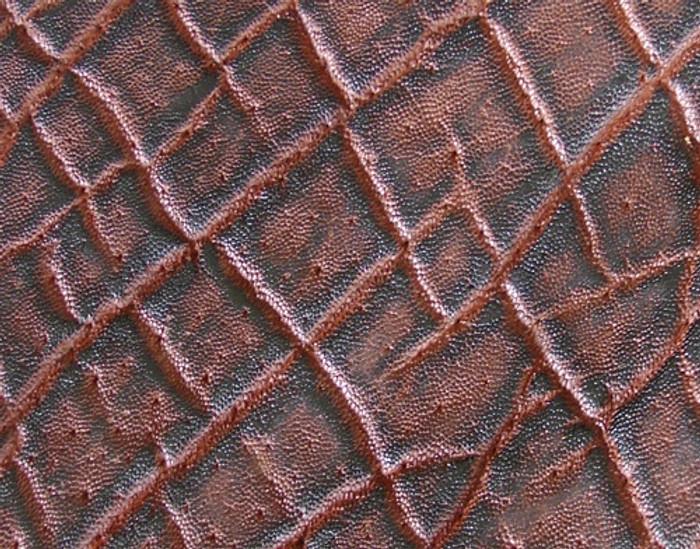 Genuine Elephant Skin - Matte Finish in Vintage Bark