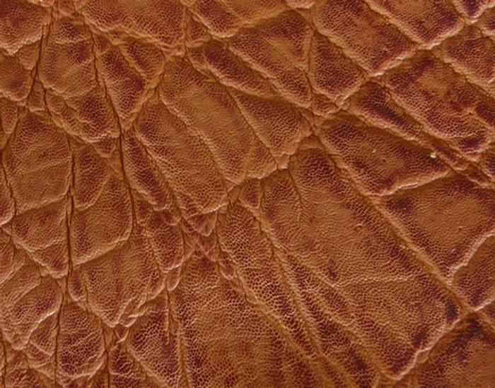Genuine Elephant Skin - Matte Finish in Vintage Honey