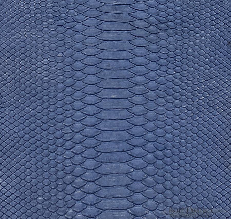 Python Short Tail - Denim Blue Matte - Back Cut