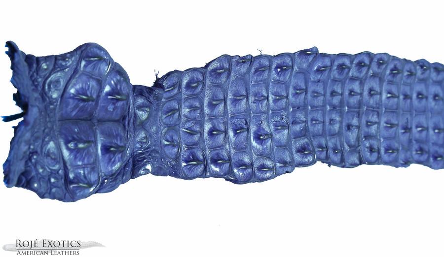 Nile Crocodile Backstrap - Lavender