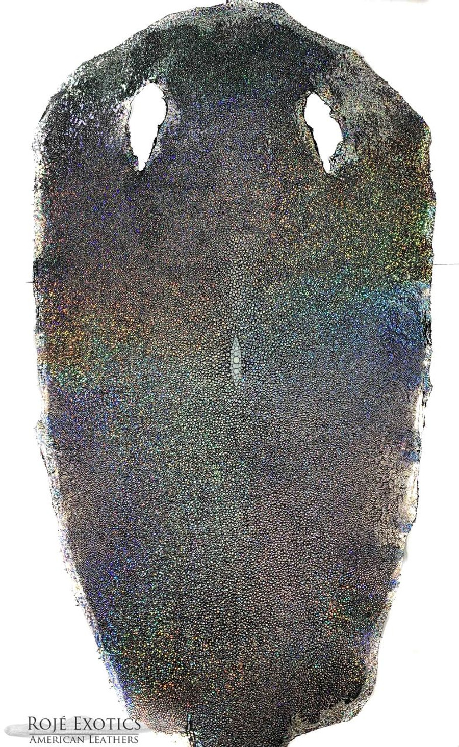 Stingray Skin - Hologram Finish - Silver