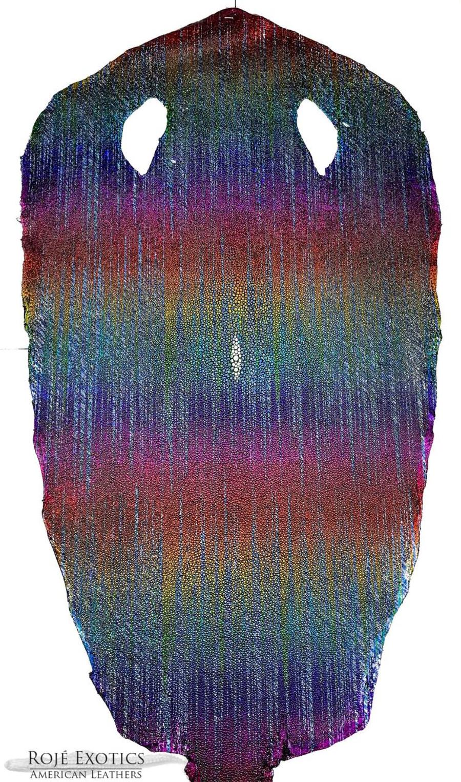 Stingray Skin - Hologram Finish -  Rainbow