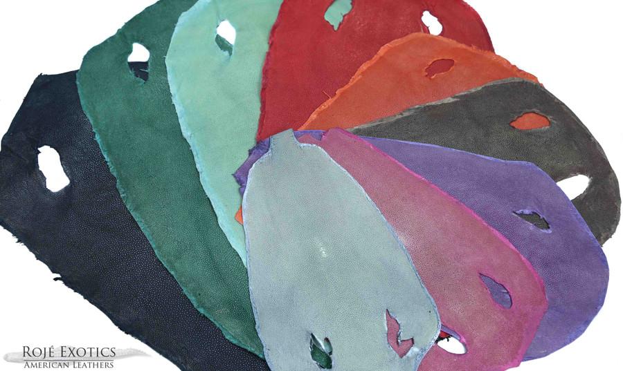 Stingray - Pink Shagreen - Sanded & Polished