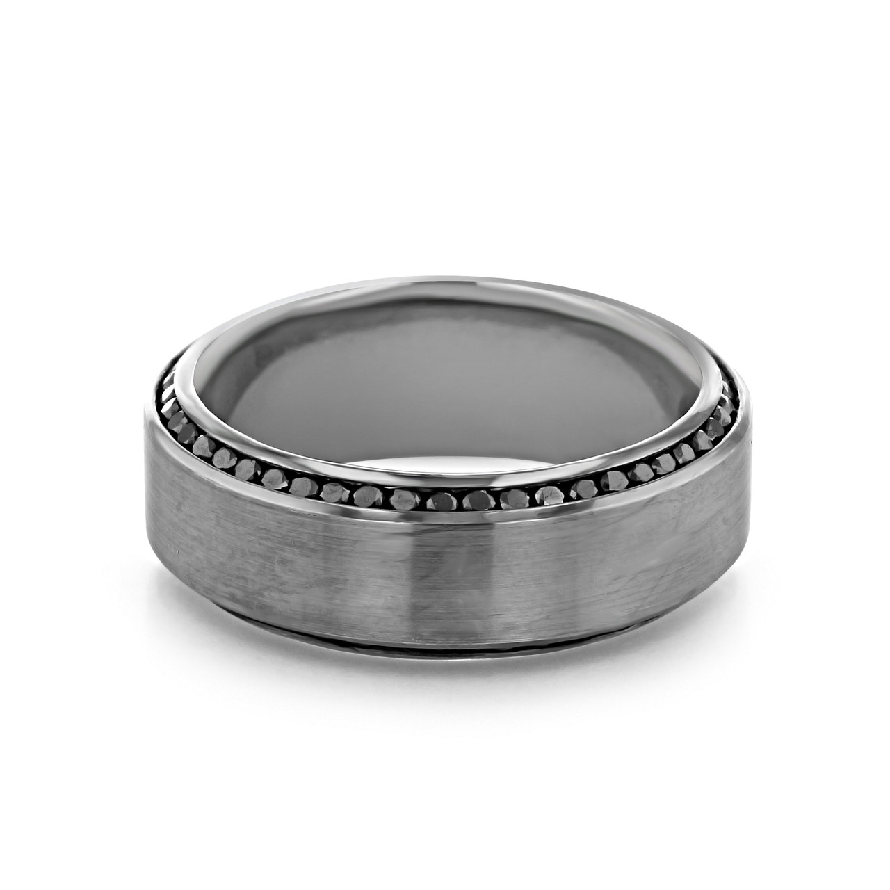 Signature Men S Wedding Band Wb525 Icing On The Ring