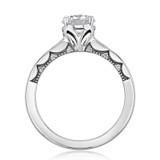 1.00 Ct. Round Moissanite Tacori Coastal Crescent Engagement Ring (P100RD65FW-M)