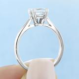 1.25 ct Asscher Cut Solitaire Engagement Ring (SO60)