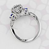 Tacori Dantela Round Shape Diamond Engagement Ring (2003253)