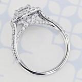 Gabriel NY Halo Round Shape Lab Diamond Engagement Ring (2006209)