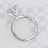 Micro-Prong Round Diamond Engagement Ring (GC188)