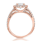 Unique Halo Engagement Ring (CR25)