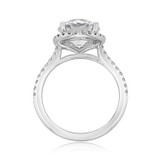 Halo Micro-Prong Engagement Ring (FG86A)