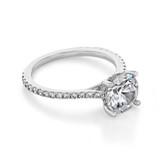 Micro-Prong Engagement Ring (FG88)