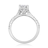 1.25 ct Oval Ribbon Micro-Prong White Gold Engagement Ring (MR3-OV)