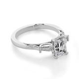 1 ct Simply Tacori White Gold Engagement Ring (2669EC75X55)
