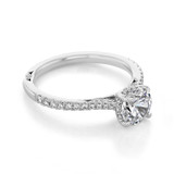 1 ct Simply Tacori White Gold Engagement Ring (2671RD65)