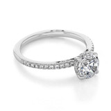1 ct Simply Tacori White Gold Engagement Ring (267015RD65)