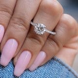 1.50 ct Simply Tacori White Gold Engagement Ring (267015RD75)