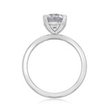 1.50 ct Round Gabriel Solitaire White Gold Engagement Ring (ER14982-150)