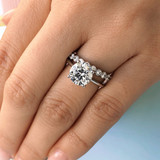 2.50 ct Round Solitaire White Gold Engagement Ring (FG87-250)