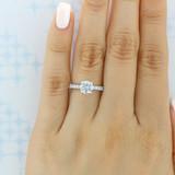 evertrue Micro-Prong Engagement Ring (EV19-2)