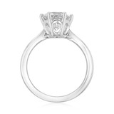 2 ct Round 6-Prong Solitaire Engagement White Gold Ring (EV108A)