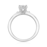 .90 ct Round Solitaire White Gold Engagement Ring (2005232)