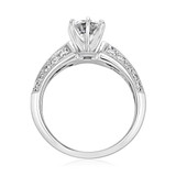 Double Pavé Engagement Ring (DC07)
