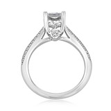 Double Pavé Engagement Ring (FG256)