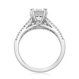 Triple Pavé Engagement Ring (MK57E)