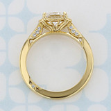 Simply Tacori Oval Shape Diamond Engagement Ring (2006807)