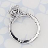 Simply Tacori Round Shape Diamond Engagement Ring (2006528)