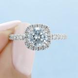 Halo Engagement Ring (CR15)