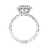 Danhov Per Lei Engagement Ring  (LE102-CU)
