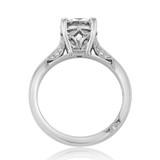 Platinum Tacori Dantela Moissanite Engagement Ring (2638RD75-M)