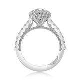 1.00 Ct. Round Moissanite Tacori Full Bloom Engagement Ring (37-2CU65-M)