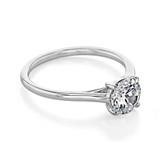 1 ct Danhov Classico White Gold Engagement Ring  (CL141)