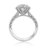 1.20 Ct. Round Moissanite Tacori Blooming Beauties Engagement Ring (HT2522RD7-M)