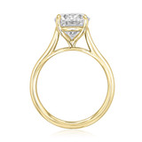 3.00Ct. Oval Moissanite Solitaire Engagement Ring (SO71OV-M)