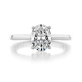 14K White Gold Proposal Ring (SO38OVW)