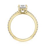 1.00 Ct. Round Moissanite Micro-Prong Engagement Ring (CR160RD-M)