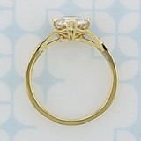 Customized Yellow Gold Vintage Inspired Engagement Ring