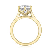 2.50 ct Round 6-Prong Solitaire Yellow Gold Engagement Ring (SO117-YG)