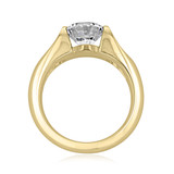 2 ct Round Solitaire Yellow Gold Engagement Ring (SO42-YG)